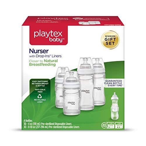 Lot of 3 Playtex Nurser Drop-Ins Liners for Baby Bottles 8-10 oz 50 ct each