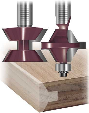 Hide the plywood edges |Katana Edge Banding Router Bits
