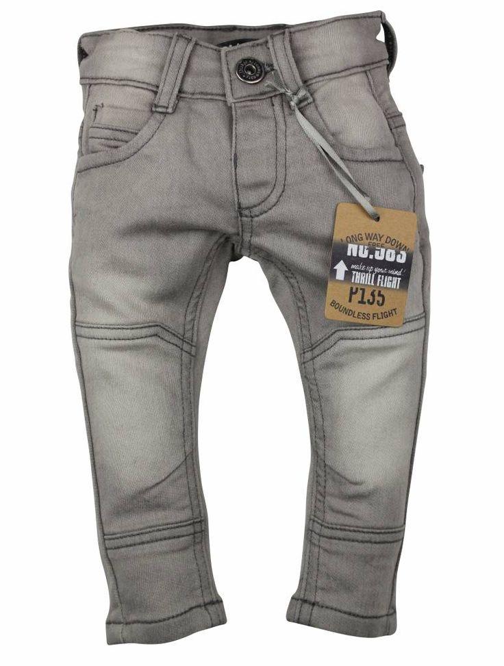 Dirkje kinderkleding Licht grijze jongens jeans Dirkje