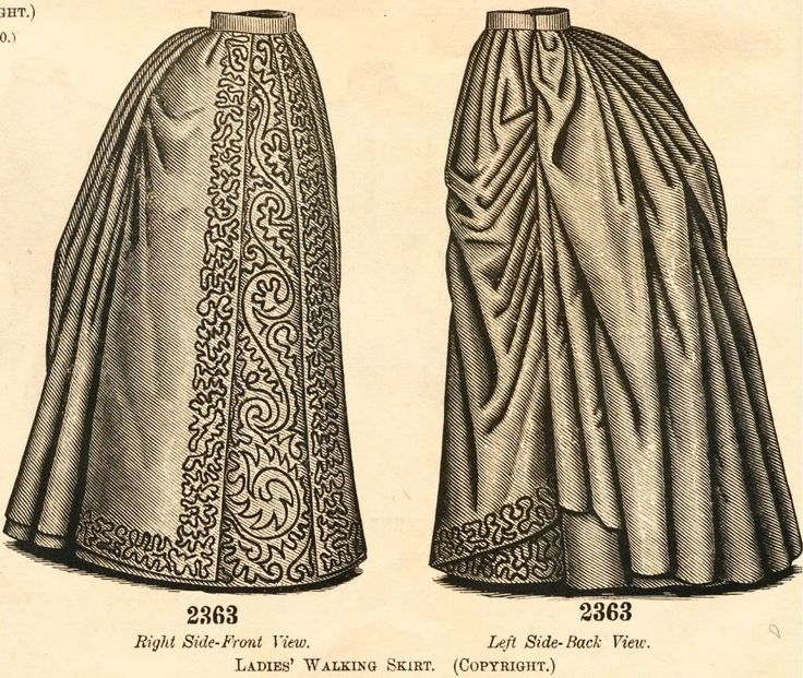 what-i-found: Delineator Magazine - 1888 Ladies Costume, Basque, Walking Skirt