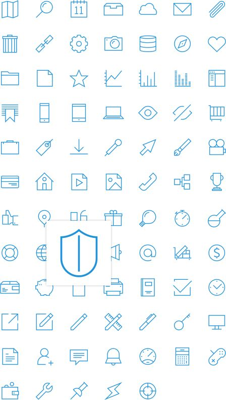 UXPin Icon Set for Free