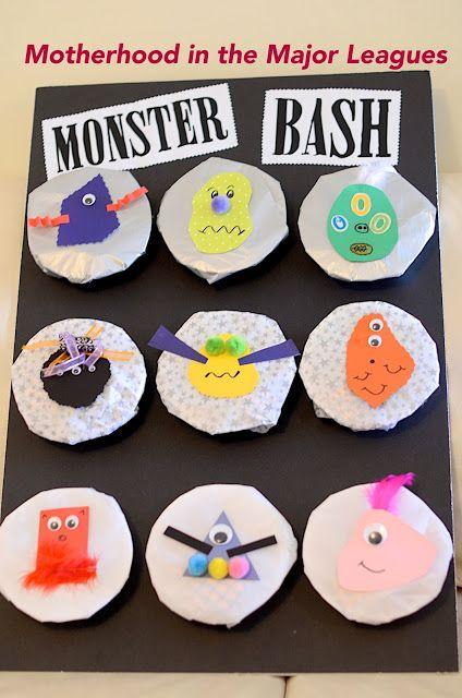 DIY Toddler Halloween Party- Monster Bash game
