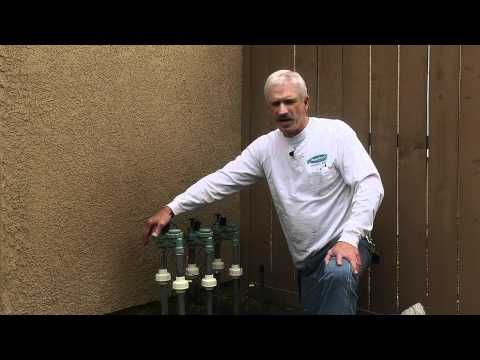 How sprinkler valve systems work - YouTube