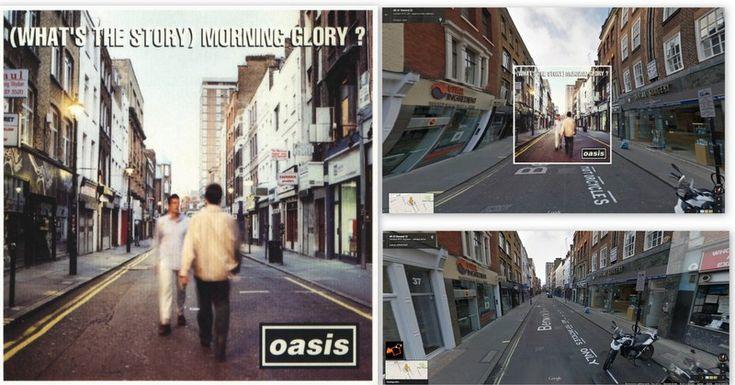 """Oasis – """"(What's the Story) Morning Glory?"""" Albümü KLASİKLEŞMİŞ 12 ALBÜM KAPAĞI NEREDE ÇEKİLDİ?"""