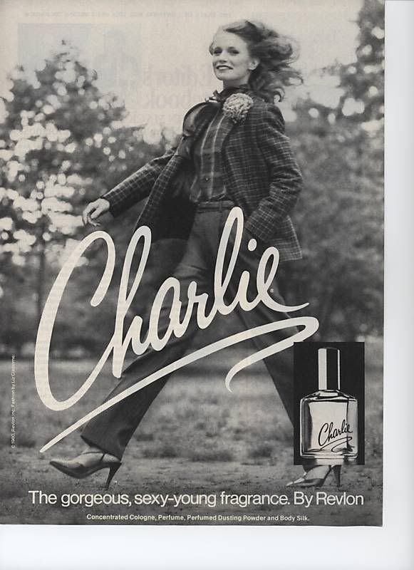 My mother wore Charlie.    Google Image Result for http://www.mimifroufrou.com/scentedsalamander/images/charlie_1980_ad.jpg