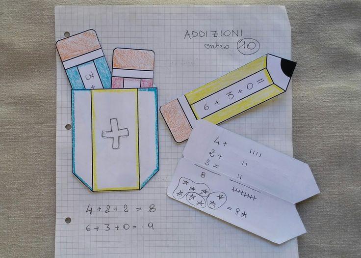Il Pettirosso che Ride: Matematite - Template per Lapbook
