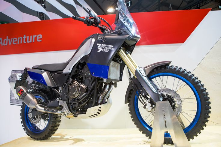Yamaha's Tenere 700 World Raid   ||  Show off last year in a much earlier prototype version, Yamaha brought back a much cleaner and closer to production bike dubbed the Tenere 700 World Raid. Based off the street FZ-07's parallel twin engine, it's gotten a new frame, swingarm…