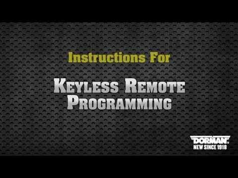 2002 to 2009 GMC Envoy Factory Transmitter Remote Fob Programming - YouTube
