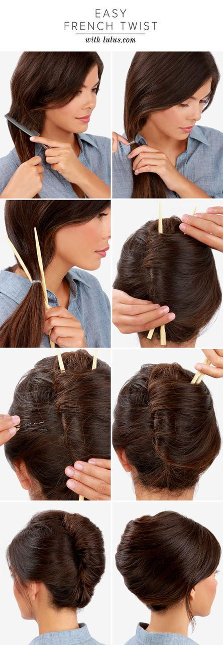 Most popular tags for this image include: hair, twist, french, hairstyle and how to