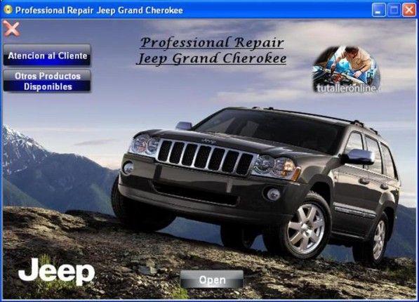 Manual De Taller Reparacion Profesional Jeep Grand Cherokee 2006