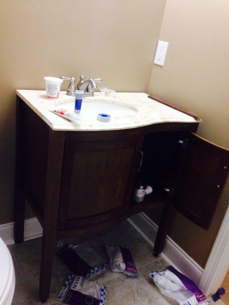 Bathroom vanity from HD