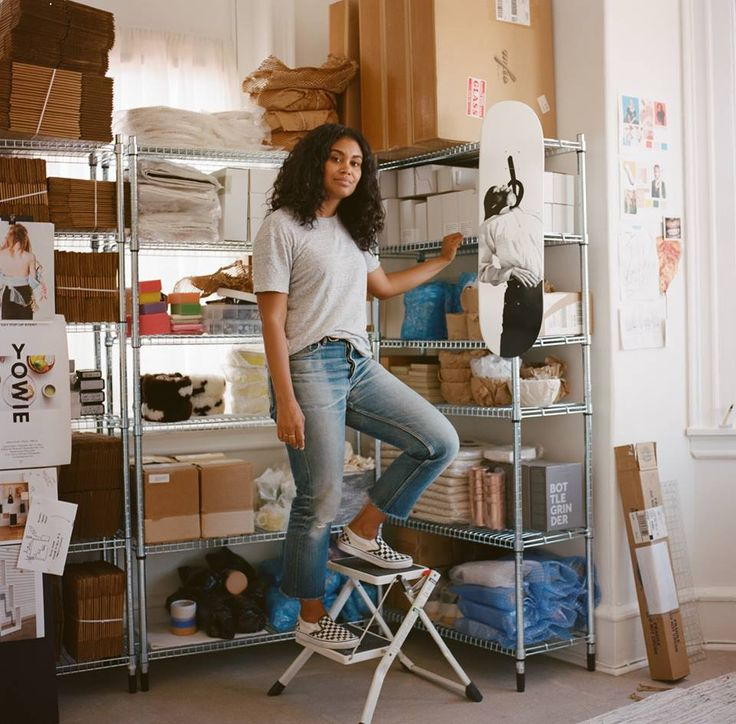 """It's okay to not do the thing everyone thinks you should do. On paper I had a great job, but it wasn't fulfilling me in the way that I needed it to. The younger version of myself would just accept that. Now I'm 33 and said ""no, it's okay to switch your career and do something else."""" -Shannon in Philadelphia, Pennsylvania started her online business, a collection-based home goods shop called Yowie using Pinterest"
