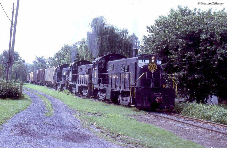 The Chesapeake Western Railway