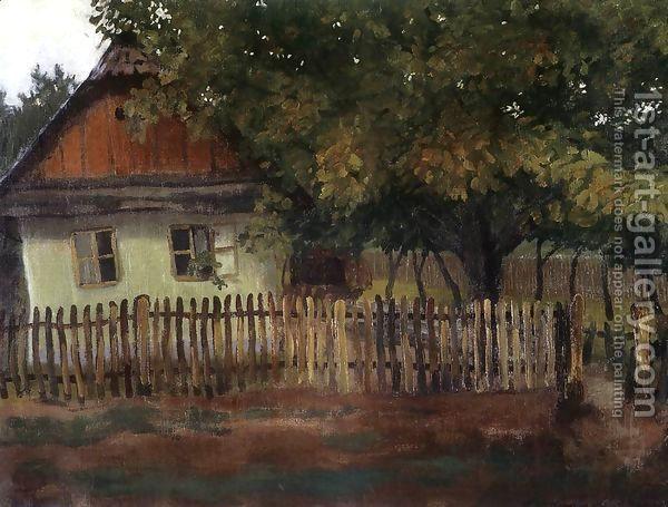 Tibor Boromisza - House at Nagybanya