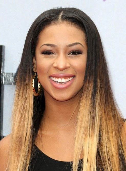 Skye Townsend Long Hairstyles 2014: Ombre Hairstyle for Black Women