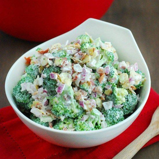 Low Carb Brokkolisalat   – Recipes