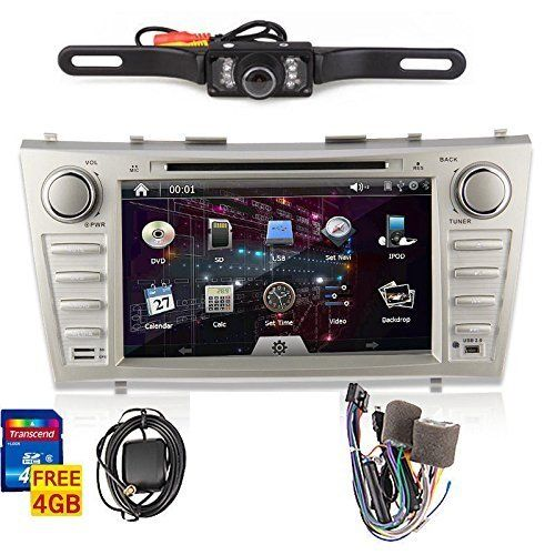 OUKU®Rear Camera Included!!!For TOYOTA Camry(support year 2007 2008 2009 2010 2011) 8 inch Indash CAR DVD Player GPS Navigation Navi iPod Bluetooth HD Touchscreen Radio RDS FM+Free GPS Map Card+Free US Map+Free Backup Rearview Parking LED Camera Cam - http://www.caraccessoriesonlinemarket.com/oukurear-camera-includedfor-toyota-camrysupport-year-2007-2008-2009-2010-2011-8-inch-indash-car-dvd-player-gps-navigation-navi-ipod-bluetooth-hd-touchscreen-radio-rds-fmfree-gps-map-car