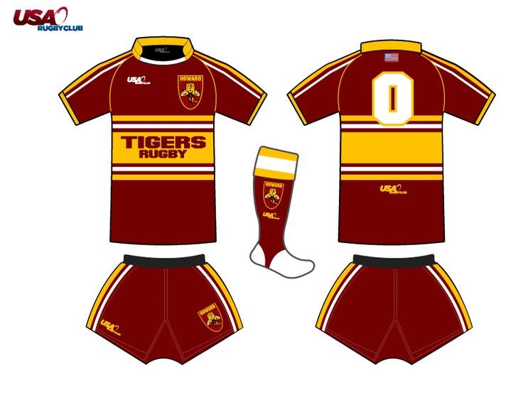 USA Rugby Club Howard High School Tigers Rugby Team Uniform Home: Howard High, Club Uniforms, Facebook Com Usarugbyclub, Rugby Club, Club Howard, Schools Rugby, Rugby Uniforms, Usa Rugby, High Schools