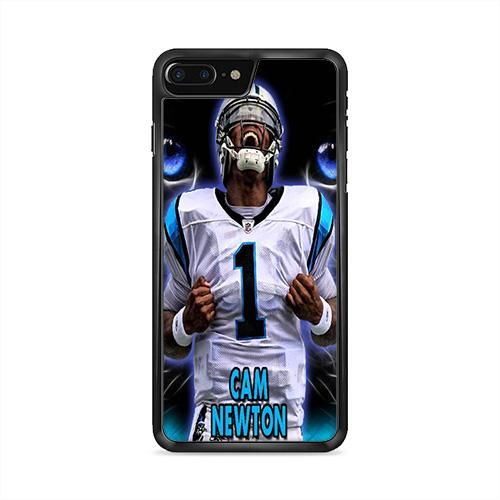 Cam Newton Panthers Eyes iPhone 7 Plus Case | Caserisa
