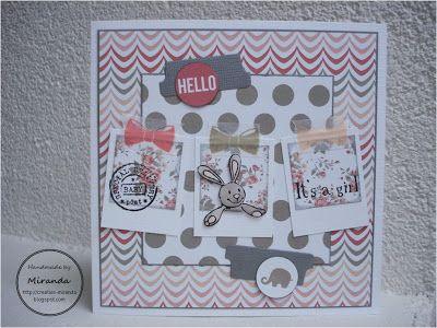Thema dag #22: polaroid meisjes - Mirandas Creaties