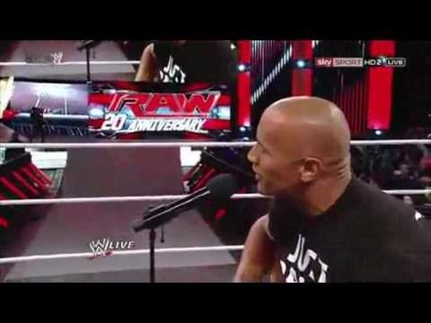 The Rock singing a modified Clapton song to Vickie Guerrero