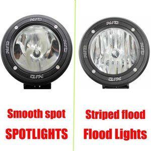 4 Inch H3 HID XENON DRIVING SPOTLIGHTS/Flood Lights OFF ROAD Lights 4WD 35W 12V/24V