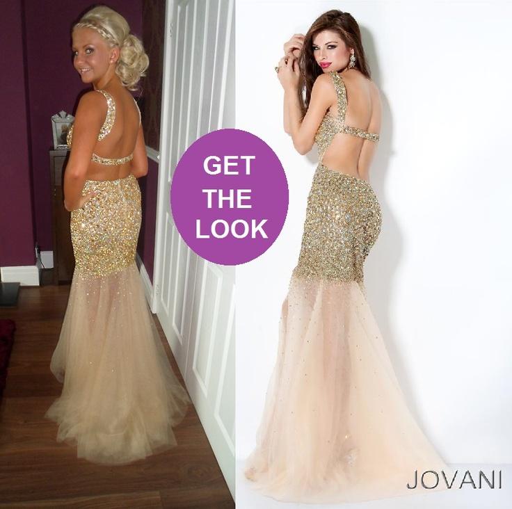 Modern Gold Jovani Prom Dress Image - Wedding Dress Ideas ...