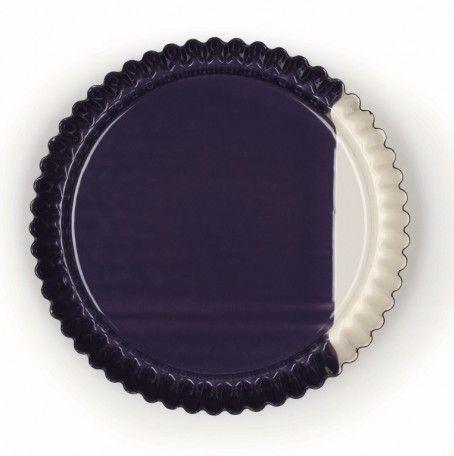 Vlaaivorm  - Obsttortenboden obers/Zwetschke - meerdere van dit soort designs qua kleur op de site