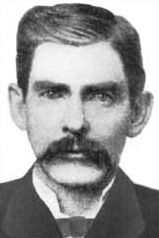 Doc Holliday was in Tombstone AZ during the famous Wild West shootout widely known as the Gunfight at the OK Corral. This is believed to be a photo of him, but is not authenticated. It may be someone that looked similar. What happened there in Tombstone? See more - click here>