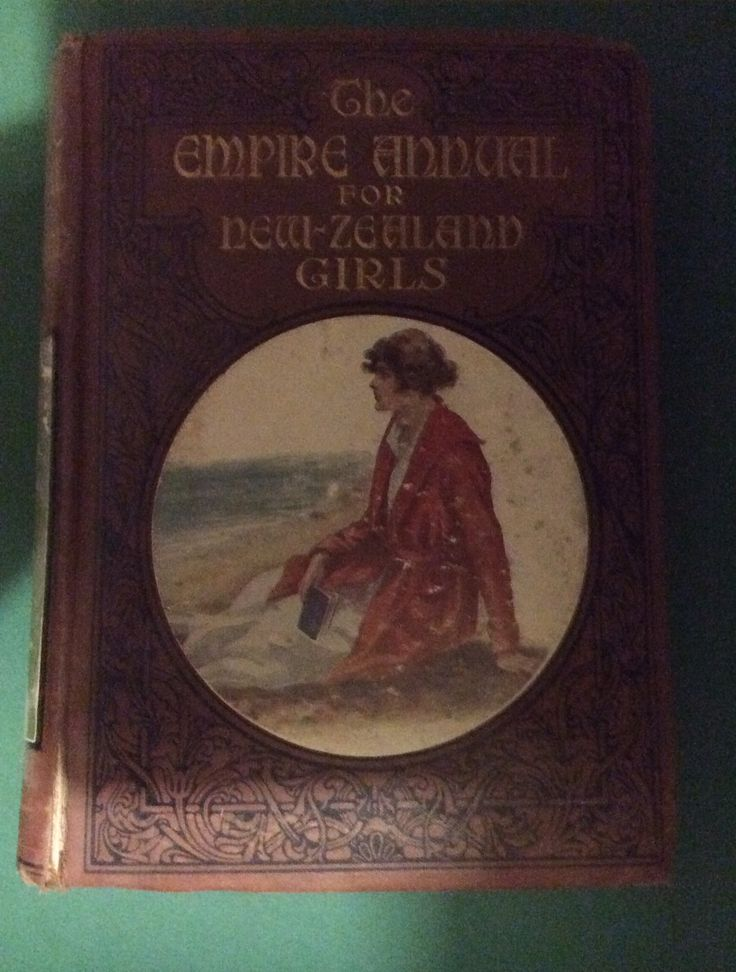 Empire Annual for New Zealand Girls, RTS. Missing title page