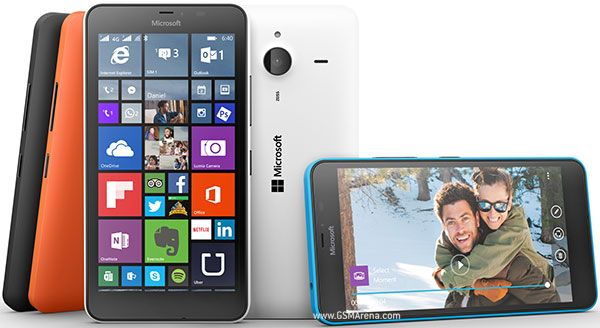 """Find the new Microsoft Lumia 640 XL Dual SIM Selfie Smartphone 5 MP front-facing with 13MP main camera, 5.7"""" big HD screen, LED flash, quad-core Qualcomm Snapdragon 400 processor, free Microsoft Office Outlook."""