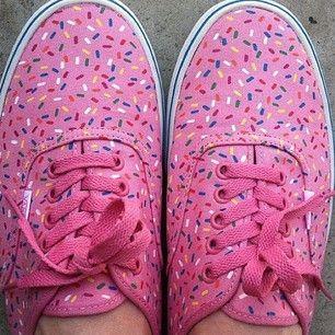 sprinkle sneakers!