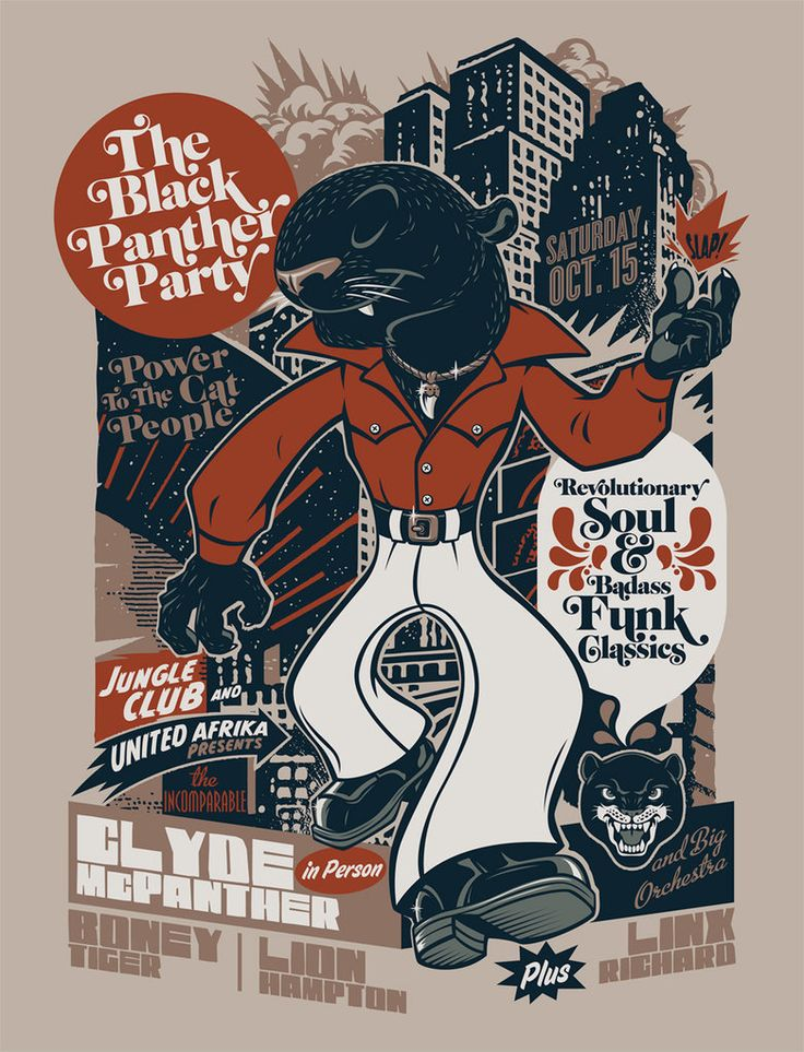 The Black Panther Party by ~Rusc