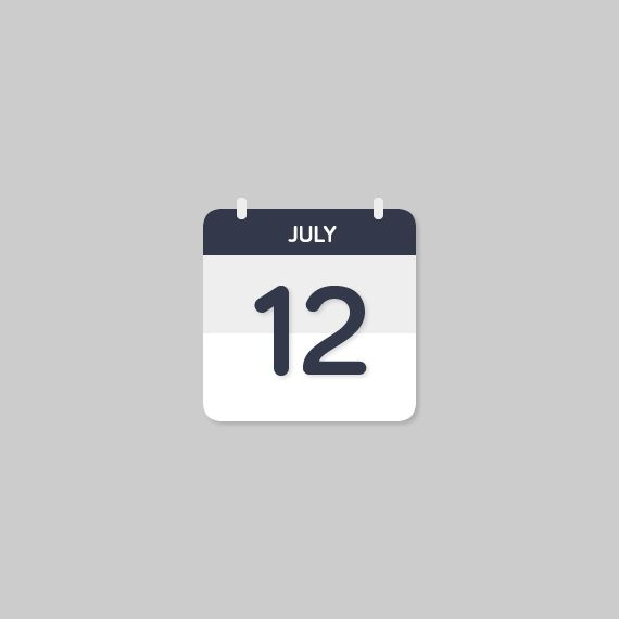 Calendar Icon | Webportio - graphical resource of Adobe Fireworks