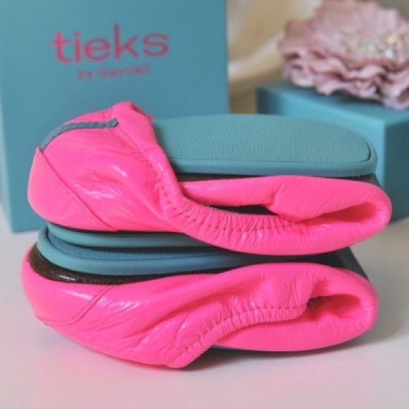 ISO Pop Pink Tieks Size 9 Will buy or trade for hard to find Lilly Pulitzer (not listed in my closet). Let me know if you have some for sale or see any listed somewhere :) Tieks Shoes Flats & Loafers
