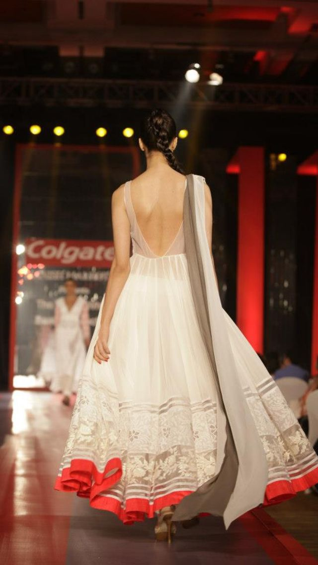 Manish Malhotra's vision in white. Loved it