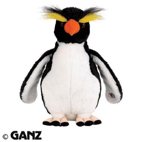 webkinz stuffed animals | webkinz plush stuffed animal rockhopper penguin price $ 6 19 webkinz ...