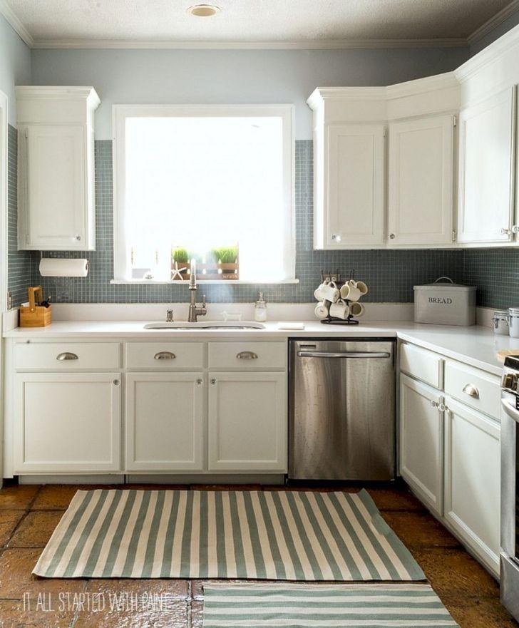 17 Genial Malen Küchenschrank Design Für Kleine Wohnung ...