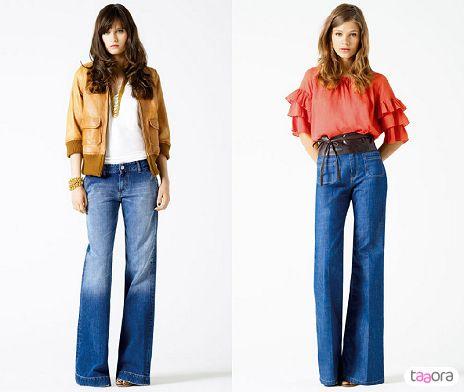 Jean bootcut & patte d'eph                                                                                                                                                                                 Plus