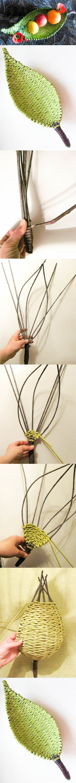 Bandeja tejido DIY Hermosa Papel: