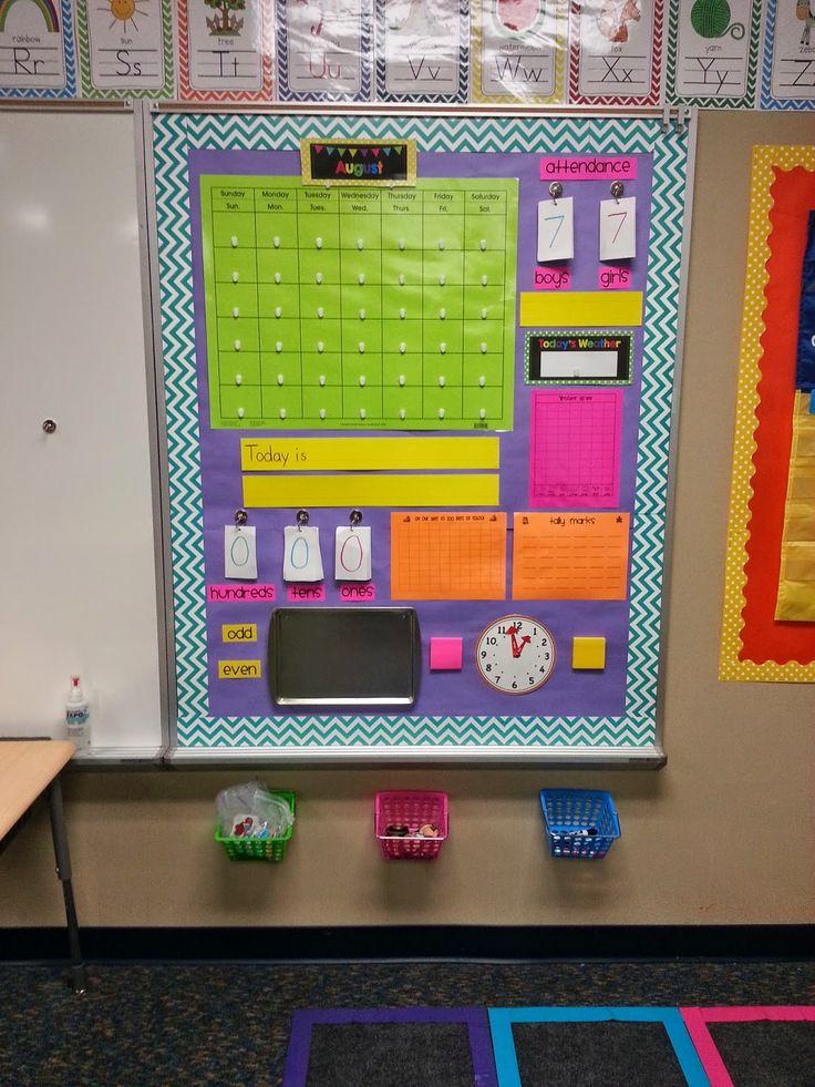 Rincón para establecer rutinas en clase, podemos establecer qué elementos queremos añadir y crear un tablero personal o común para toda la clase y cambiarlo cada día.