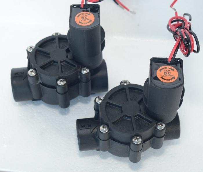 """[Visit to Buy] irrigation system Z&W 075D-DL   3/4"""" Female In-line Sprinkler Valve, Automatic Irrigation Valves  20mm #Advertisement"""