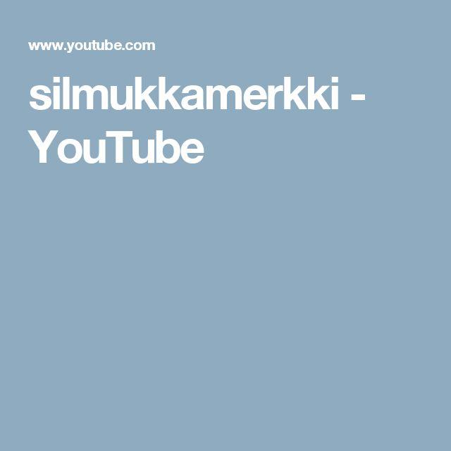 silmukkamerkki - YouTube