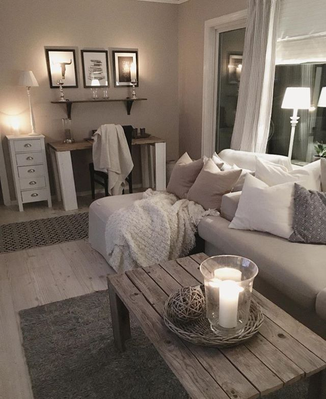 Pinterest:@ Kaysasophia  · Cozy Living RoomsApartment ...
