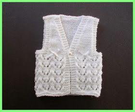 I really love this sweet little design ........     Bibi Baby Gilet / Waistcoat - Newborn                   Bibi - Baby Girl's Gilet ...