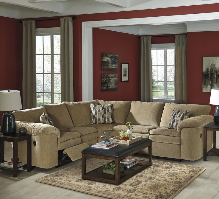 1000+ Ideas About Reclining Sectional On Pinterest