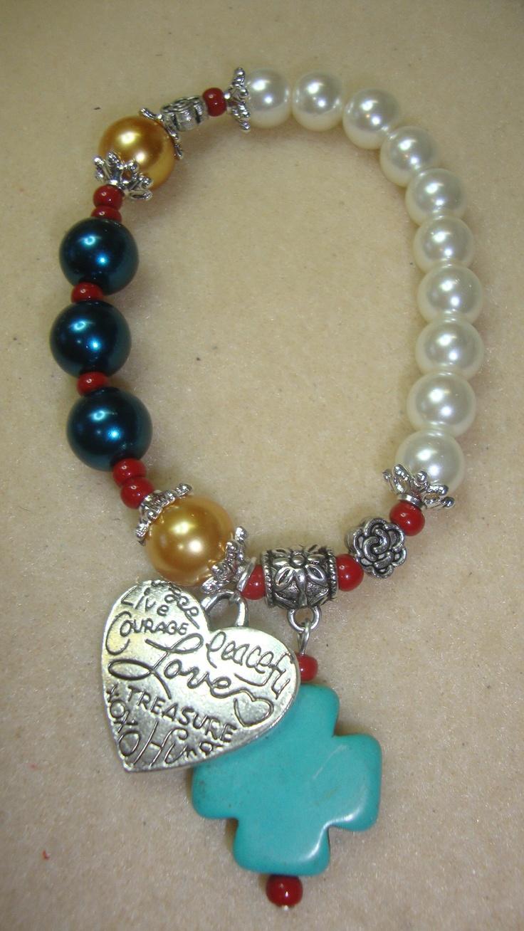 Pulsera rosario (variedad de colores)