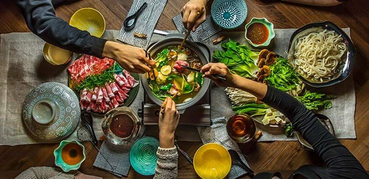 Shabu Shabu, a Japanese dish of thin slices of meat and vegetables cooked in hot broth, is made for entertaining. Invite over some friends and try our Test Kitchen's take on this dish!