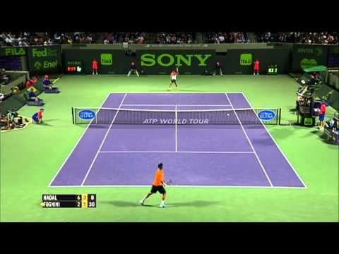 Miami 2014 Tuesday Hot Shot Nadal