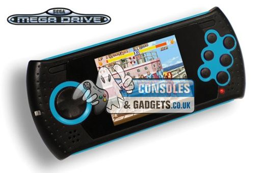 With an amazing built in 18 Sega Megadrive games plus LCD display screen & a rechargeable battery pack this Sega Megadrive Ultimate Handheld costs only £49.98 at Consoles and Gadgets.